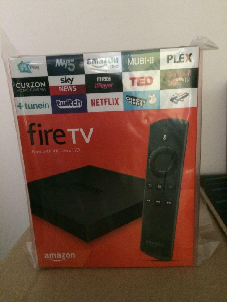 Amazon Fire TV Box - 4K - Brand New and Sealed