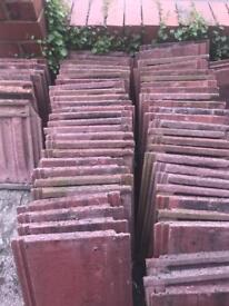 Red roof tiles free