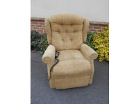 Celebrity rise and recline electric chair. Can deliver