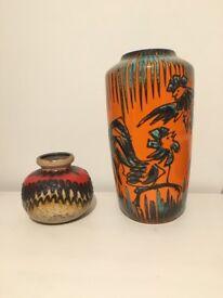 West Germany vases