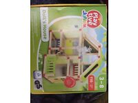 Bundle of kids stuff (2 dolls house + two safety door + potty + bike + castle with soldiers)