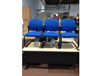 Blue Canter Leaver Chairs
