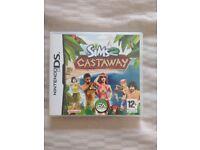 Nintendo DS Sims 2 Castaway Game