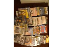 PC CD ROM games