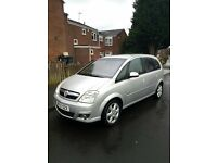 2007 Vauxhall Meriva 1.6 Semi-Automatic 5 Door Full MOT Low Mileage Only 68k