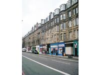 2 bedroom fully furnished 1st floor flat to rent on Haymarket Terrace, Haymarket, Edinburgh