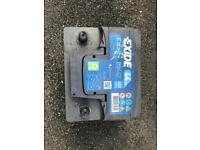 Used Car Battery Exide Excell EB442 44AH 420A