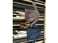 Large bundle of girls clothes age 2-3 years and next boots and peppa pig trainers