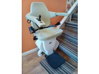 Handicare stairlift new condition removed from property ready for collection FREE