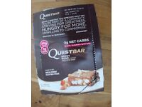 Quest Nutrition 60 g Rocky Road Gluten Free Energy Bars - Pack of 11 Brand New *Leeds LS17 & Post*