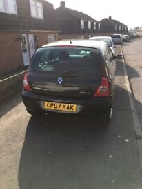 07 plate renault clio