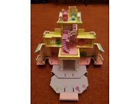 Vintage 1995 Polly Pocket Victorian Club House Bluebird - Keeping Abreast Charity Sale