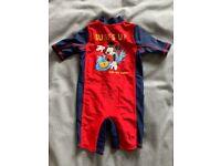 Disney Baby swimsuit 3-6 months