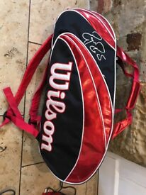 Roger federal large Wilson Tennis bag