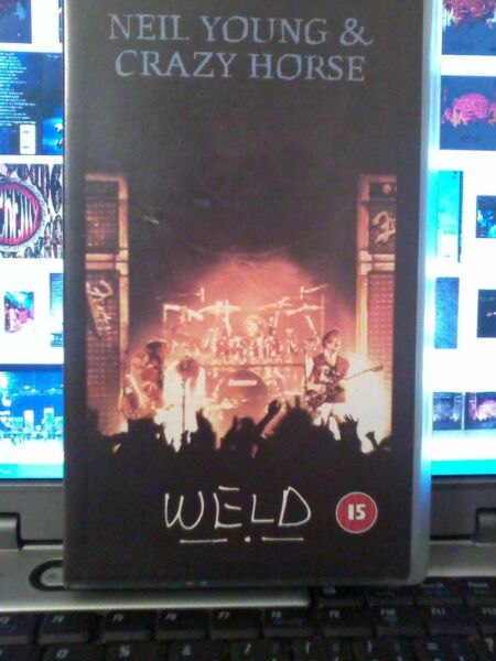 Neil Young & Crazy Horse - Weld - vhs