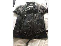 """All Saints"" Quality Leather Biker Jacket"