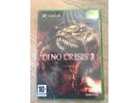 Xbox DINO CRISIS 3 SEALED