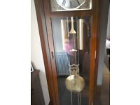 Grandfather clock with Westminster chime.