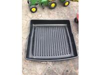 Audi A4 allroad 2015 solid plastic boot liner/tray
