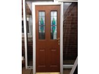 upvc back door ideal for shed £25