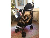 Maclaren Quest LIMITED EDITION Railroad Stripe Pushchair Buggy