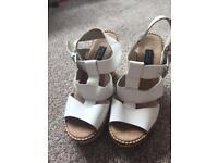 Sandals - Size 3 White