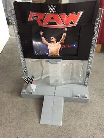WWE Ultimate Entrance Stage with lights