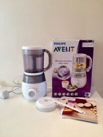 Philips Avent 4 in 1 Steamer & Blender