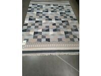 TÅRBÄK Rug, flatwoven, handmade/grey/beige170x240 cm IKEA MILTON KEYNES #bargaincorner