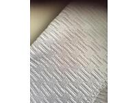 King size silver bed throw