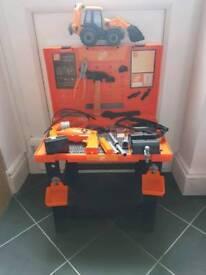 CHILD'S KIDS TOOL BENCH WITH TOOLS