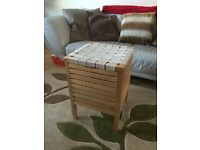 Quick sale required: Two wooden laundry baskets - Sold individually - £10 each or £18 for the pair