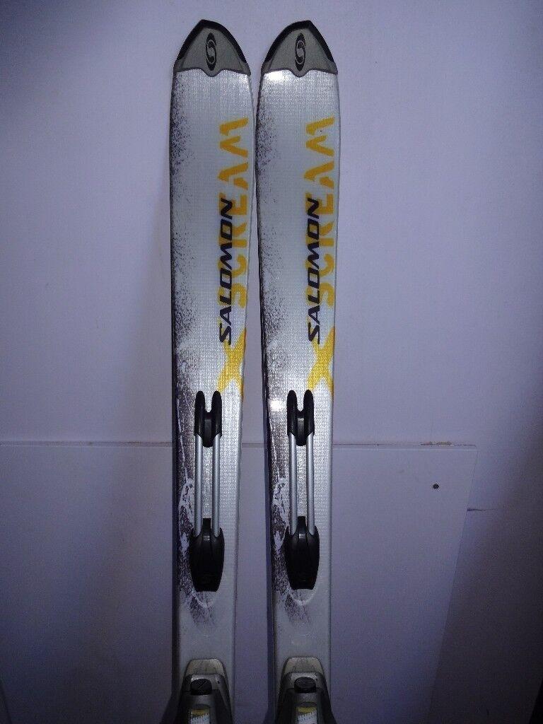 Salomon X Scream 9 169cm Skis W Bindings | #134597277