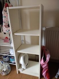 2 white Shelves to sell