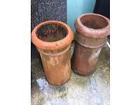Chimney pots reclaimed