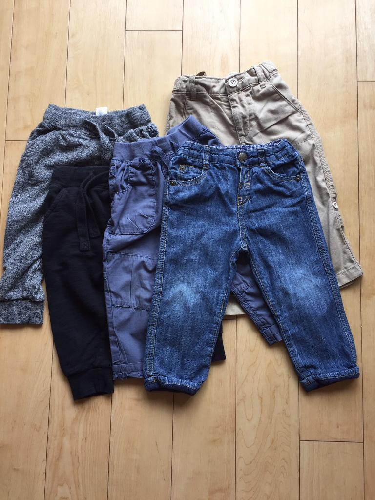 12-18 months trousers