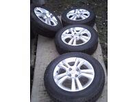 Vauxhall wheels 15