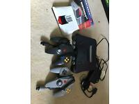 ** N64 console with 2 controllers and expansion pack boxed ** for sale  Norwich, Norfolk