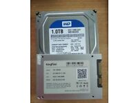 128GB SSD + 1TB HDD 7200RPM