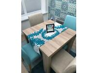 NEXT Corsica Extendable Dining Room Table And Chairs Seats 4 To 6 OPEN TO OFFERS