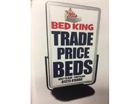 👑 🛏️ **FREE DELIVERY** Beds, Headboards & Mattresses – Bed King Portslade (next to Aldi) 👑 🛏️