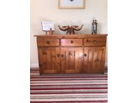 Pine sideboard. Any reasonable offer accepted.