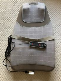 HoMedics Shiatsu Pro Plus Back Massager Sold As Seen Backrest Only