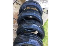 4x Pirelli P7 Cinturato Tyres 225/45/17