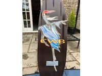 140 CWB Inferno Wakeboard with CWB TORQ bindings, Amazing quality and condition