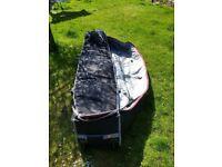 Billabong 3 surfboard coffin wheely travel bag