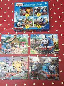 Thomas jigsaws and orchard game
