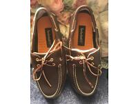 New timberlands boat leather shoes
