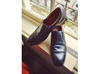 Clark's Black Formal Leather Shoes - Size 10 with 5 days use