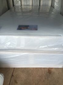 New good quality kingsize beds for sale ( good quality kingsize mattress + kingsize divan bed base )